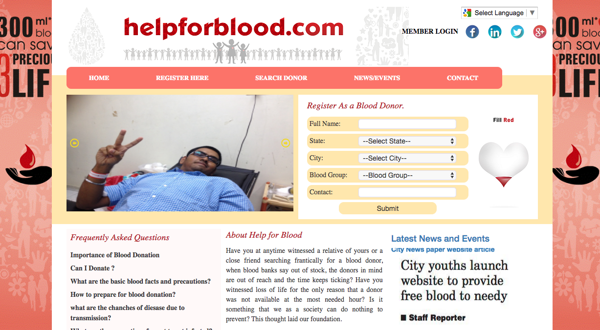 Help For Blood