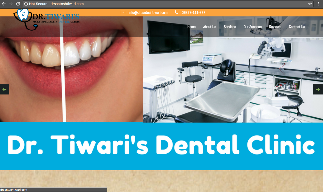 Dr Sanotsh Tiwari's Dental Clinic