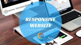 Responsive Website at Dhamma Technologies Nagpur